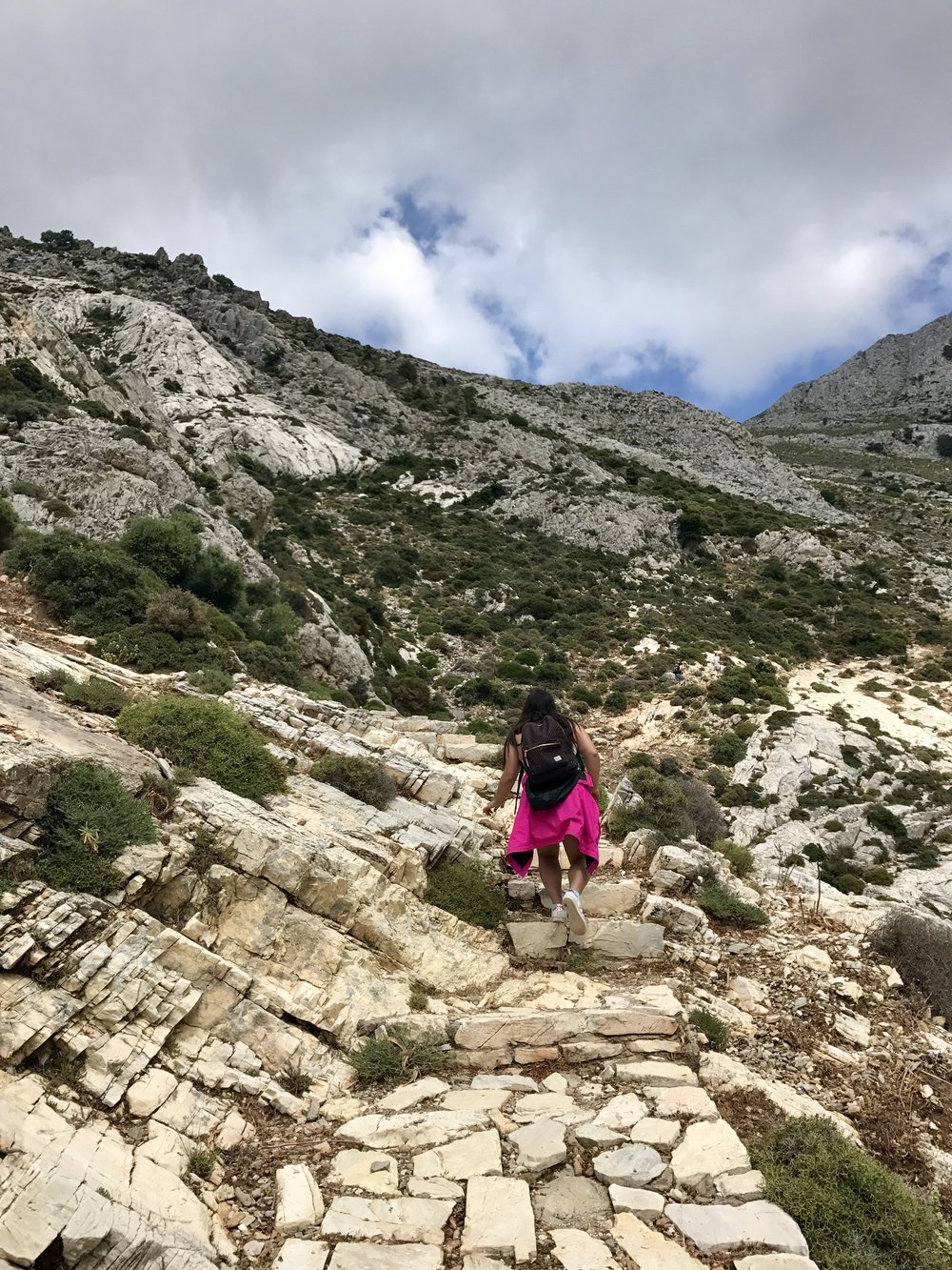 Trail to Cave of Zeus