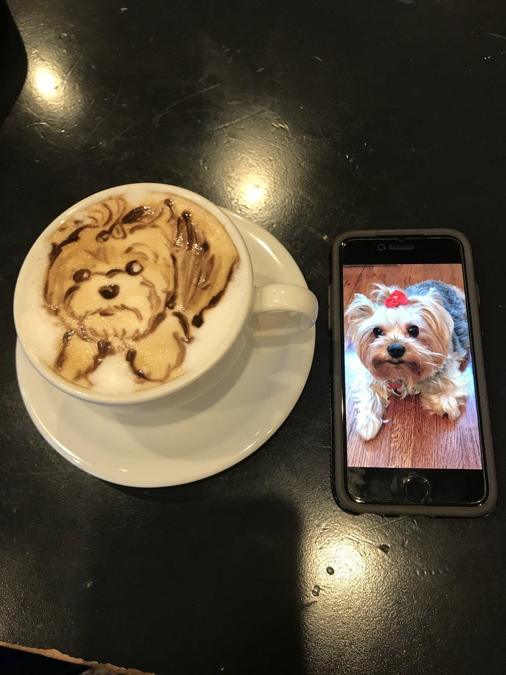 2D Winkle Latte
