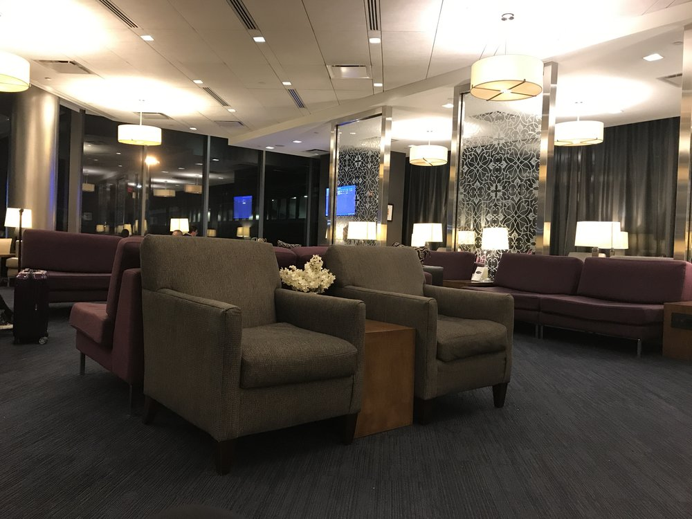 British Airways Lounge Newark
