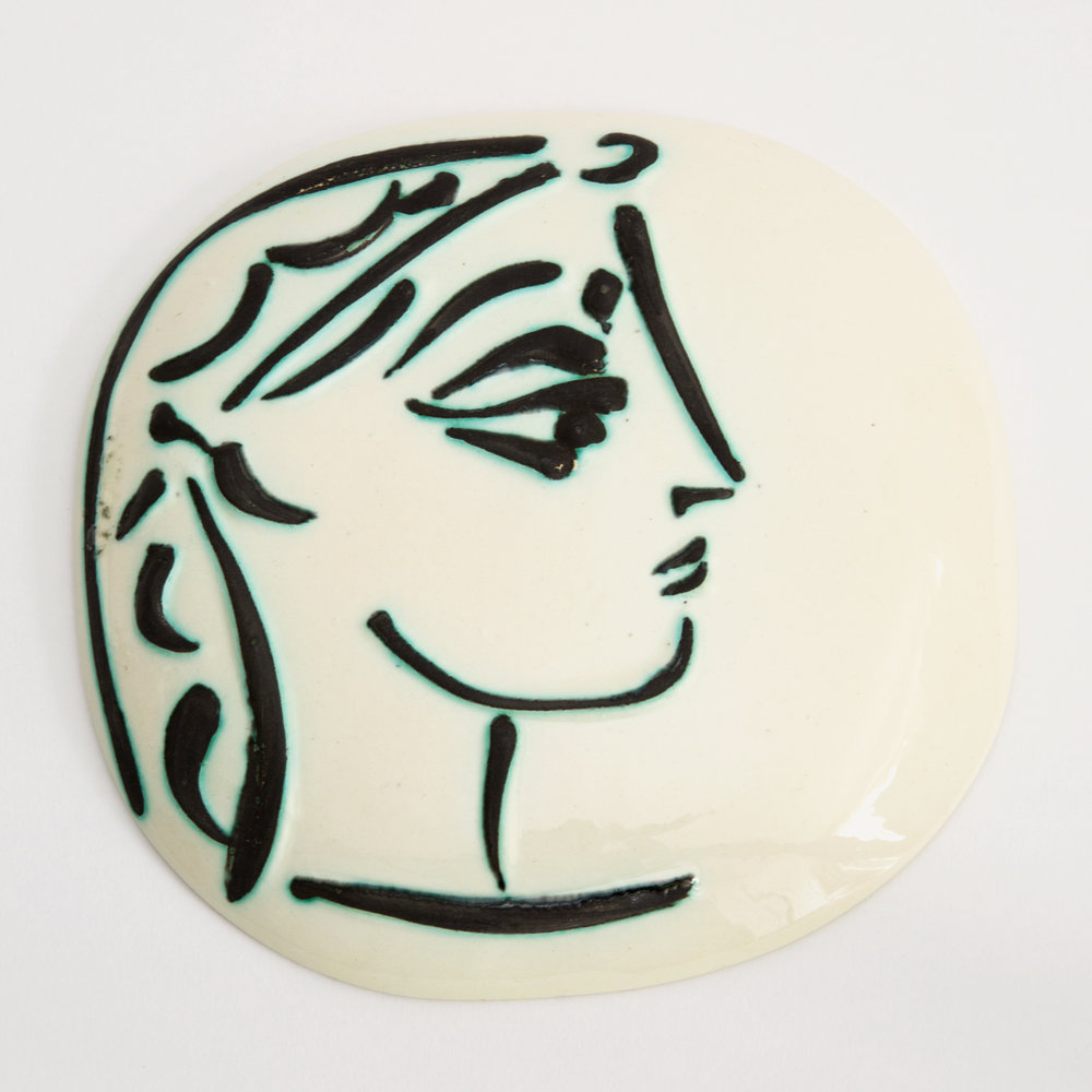 The Picasso Medallion ('Jacqueline's Profile')
