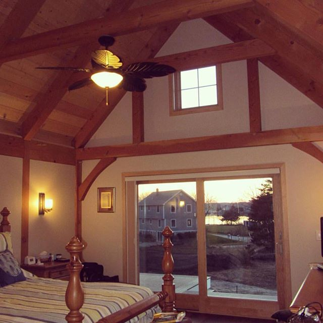 Summertime views from this beautiful home we did in Narragansett #electrician #lightingdesign #newhome #contractor