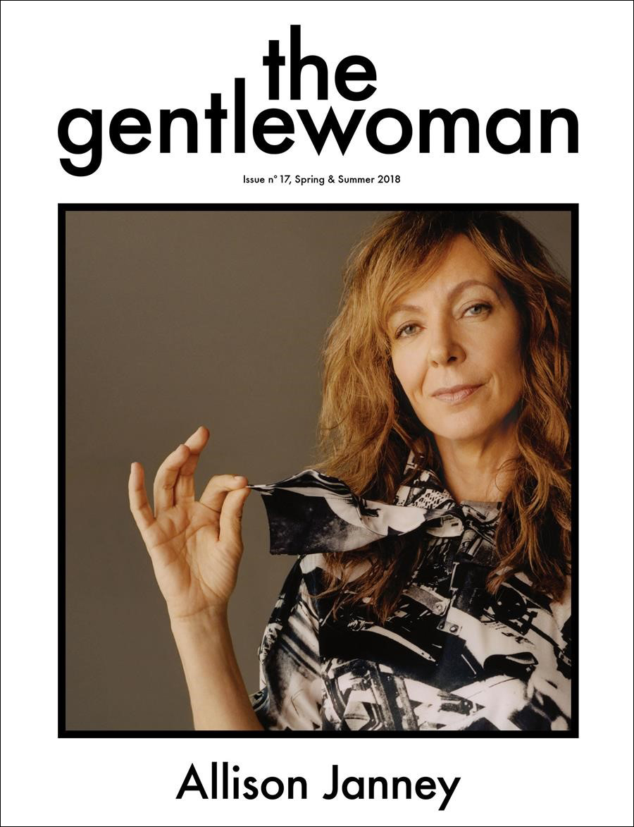 the gentlewoman  Issue 17. Front cover.