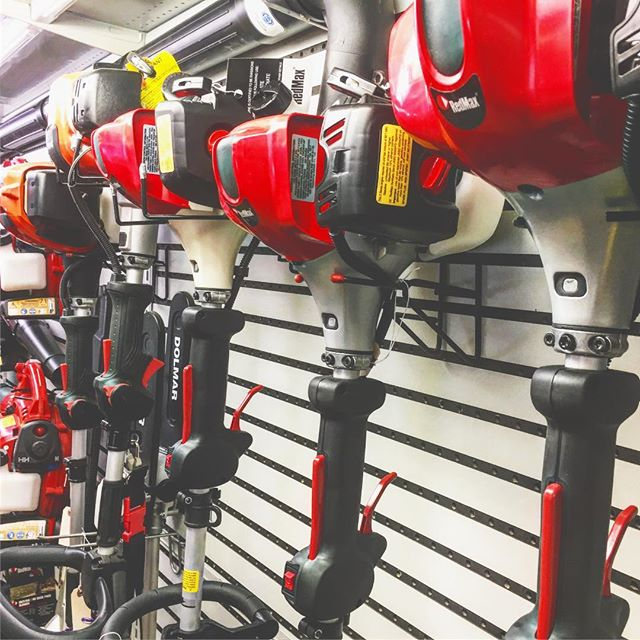 Almost back to fully stocked! Come in this weekend and grab Dad something as reliable as he is! From trimmers to chainsaws; gas to electric; We.Are.Equipment.