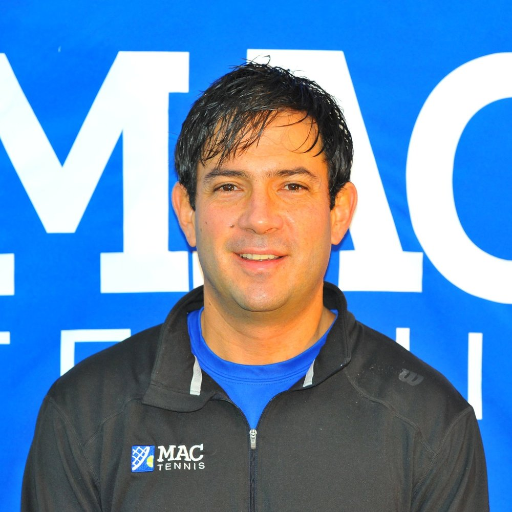 """Francisco Montoya -   Director of MAC Tennis Academy   Francisco been in the coaching side of the game for the past twenty five years. He spent ten years at the Nick Bollettieri Tennis Academy in Florida where he went from hitting partner to travelling coach to head coach to the leader of organizing the international tournament schedule for all the top players in the program. During his ten years at NBTA he worked directly with elite players such as Venus and Serena Williams, Maria Sharapova, Tommy Haas, Horia Tecau, Mirjana Lucic, Paul Henry Mathiew, Dustin Brown and many others.  Francisco started the MAC Tennis Academy with in partnership with Nick Bollettieri in 2003, and the program has develop a reputation of excellence in New England and the entire US. During his years in New England, he has receipt multiple awards that include """"coach of the year"""", """"pro of the year"""" and the William Freedman award by the USPTA and the USTA. The MAC Tennis Academy has helped over 150 players reach their goal of playing college tennis in the US, and some of those players have gone to compete in the professional circuit. Francisco's belief is to maintain a full commitment to a program that values teamwork and a family oriented feeling for all coaches, players and parents.    fmontoya@macathletics.com"""