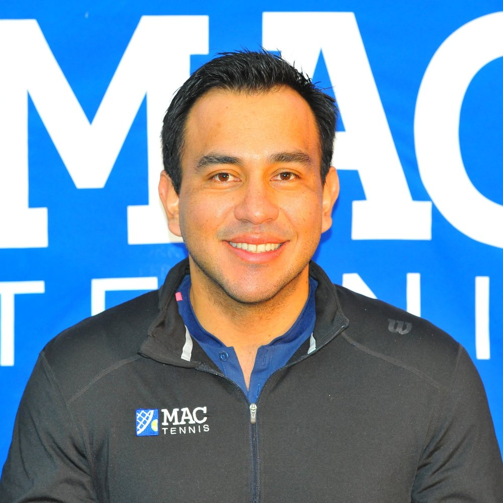 Ricardo Munar -   Head Coach   Ricardo played college tennis at Shaw University, where his team won the Conference Championships three consecutive years. As a junior, Ricardo was ranked in the top 5 in Colombia. Before coming to the MAC, Ricardo worked as a tennis professional at the Weymouth Club for five years. Ricardo is a USTA high performance certified, USPTR high performance professional certified and is also a USTA Certified Regional Training Center Coach. Ricardo has developed many highly ranked juniors that have achieved top 10 New England rankings and have gone on to play collegiate tennis and the ITF circuit. Ricardo also represents new england as coach with the New England team under 16 and has been one of the New England coaches for the USTA RTC camps in the section. As a player, Ricardo's best victory is a win against Juan Sebastian Cabal who is ranked in top 20 in the world.   rmunar@macathletics.com