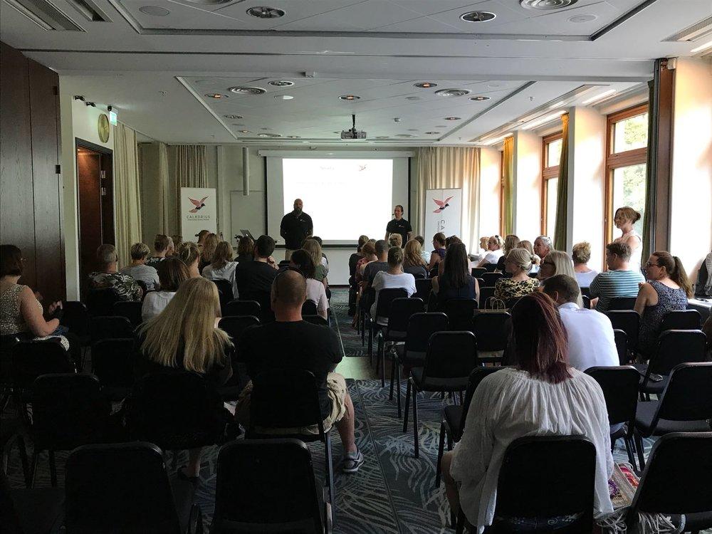 Träffa Caladrius i Stockholm på en öppen föreläsning