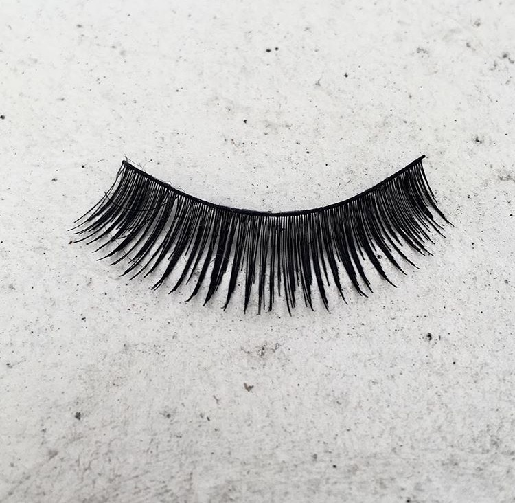 False eyelashes, Someones Rubbish, Brighton and Hove 2016.