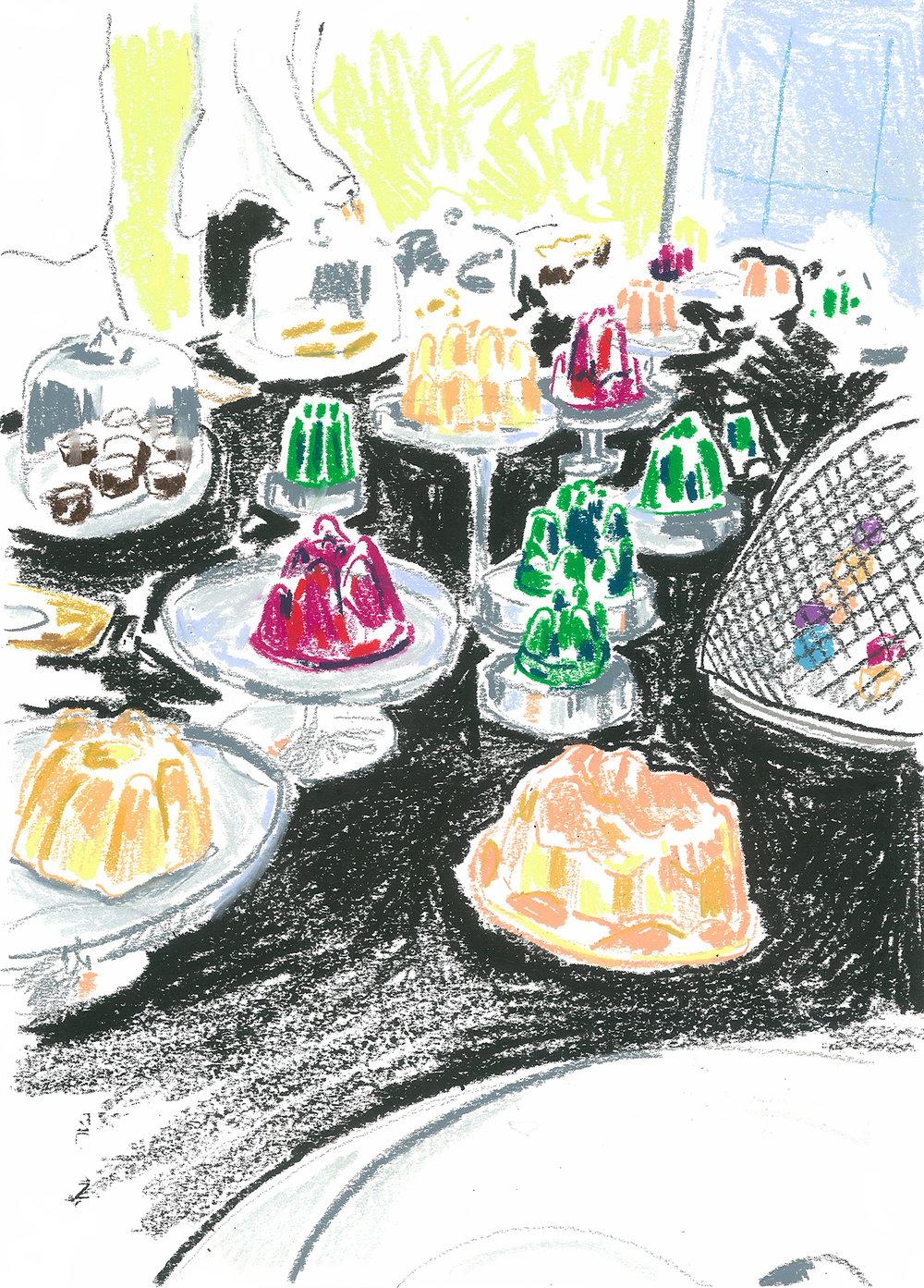 Burberry cakes