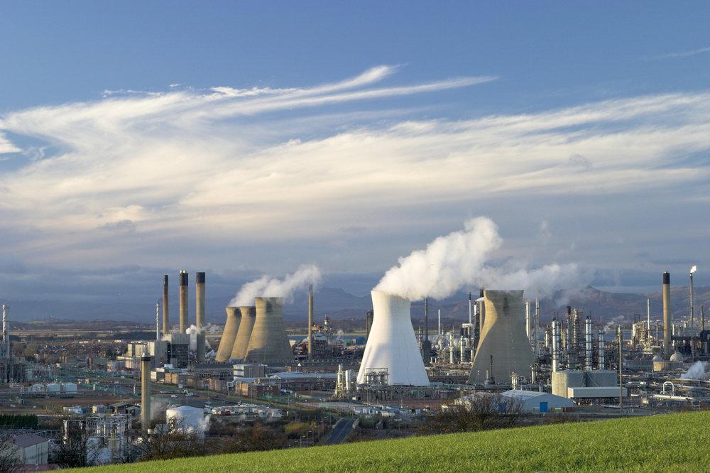 Ineos industrial site, Grangemouth