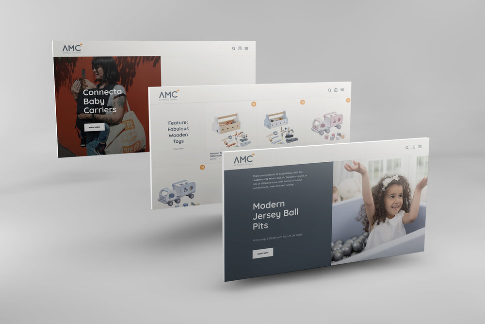 All Mama's Children Look & Feel - New corporate identity, better segmentation and a new website skin.