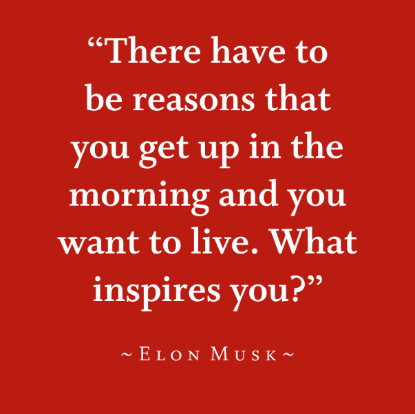 what inspires you the most