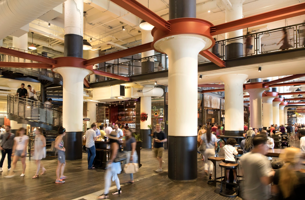 The Food Hall in Ponce City Market