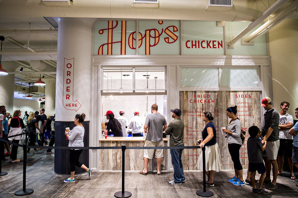 Linton Hopkins' Hop's Chicken in Ponce City Market