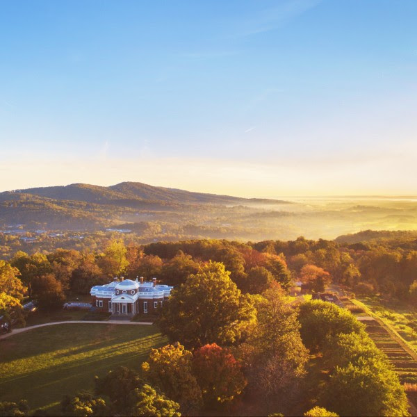 Monticello is located in Charlottesville, Virginia - a two hour drive from Washington, D.C.