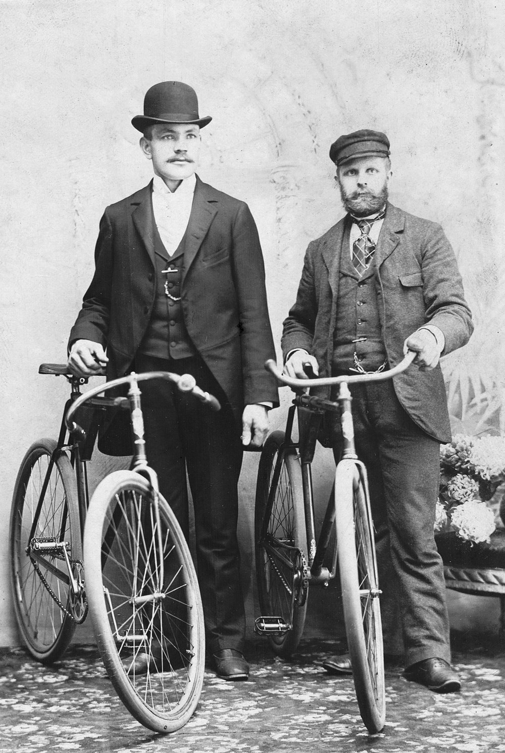 Alexander Cresent and Charleston Higginbottom of the United States Bicycle Army