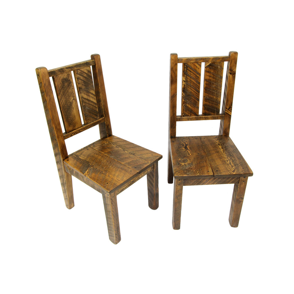 Bitterroot Rough Sawn Chairs