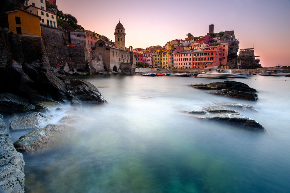 Morning in Vernazza