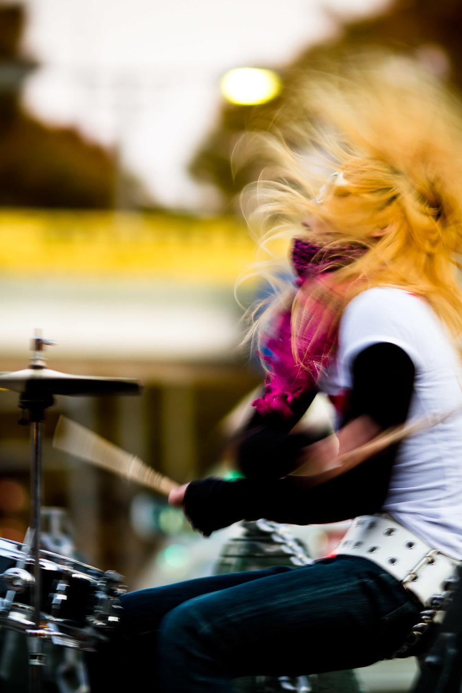 Street Drummer Passion