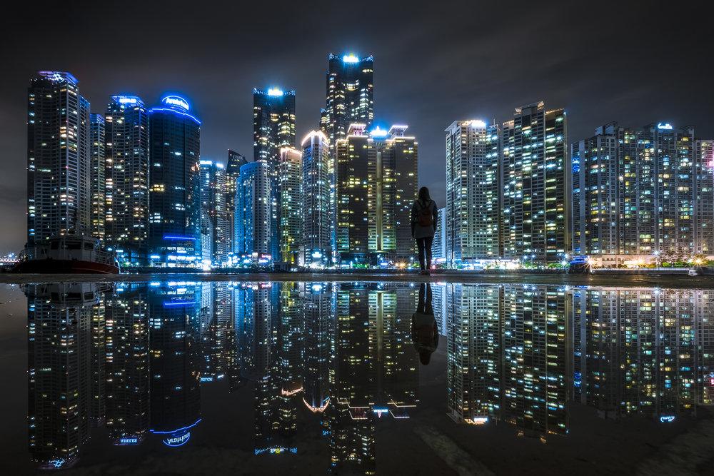Urban Solitude | Pusan, South Korea