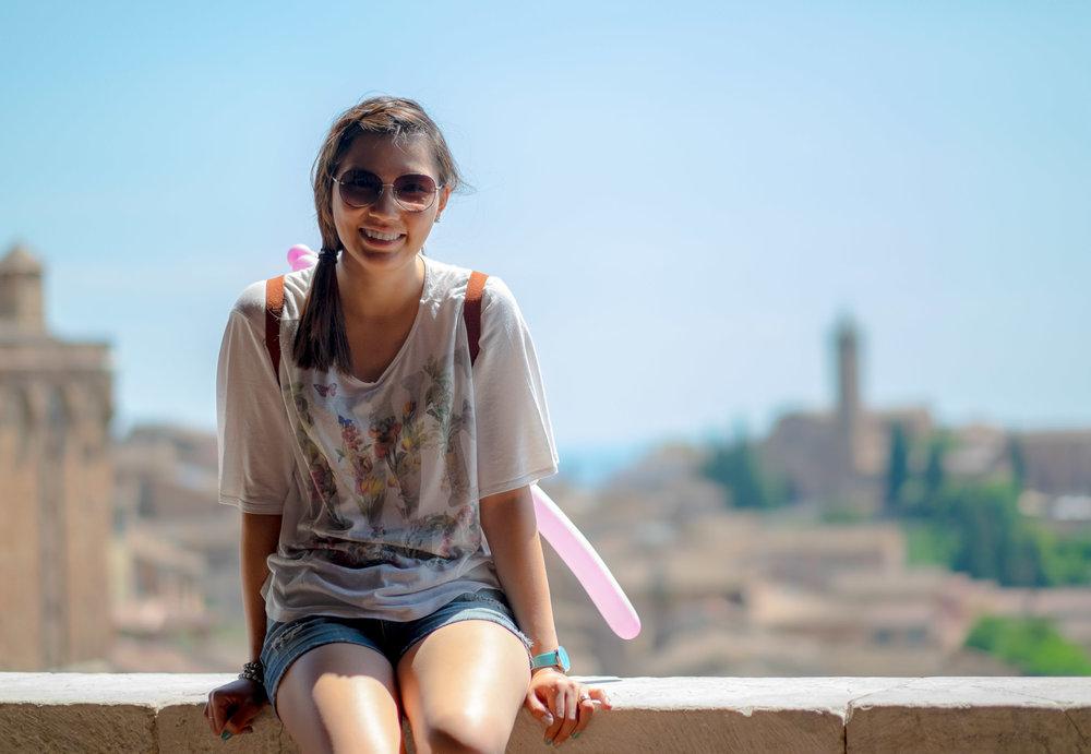 Ilan a San Gimignano