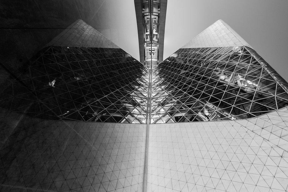 Pyramids  Opera Theater -Guangzhou China 2012