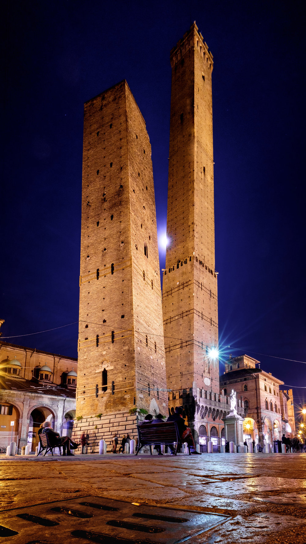Bologna's Towers