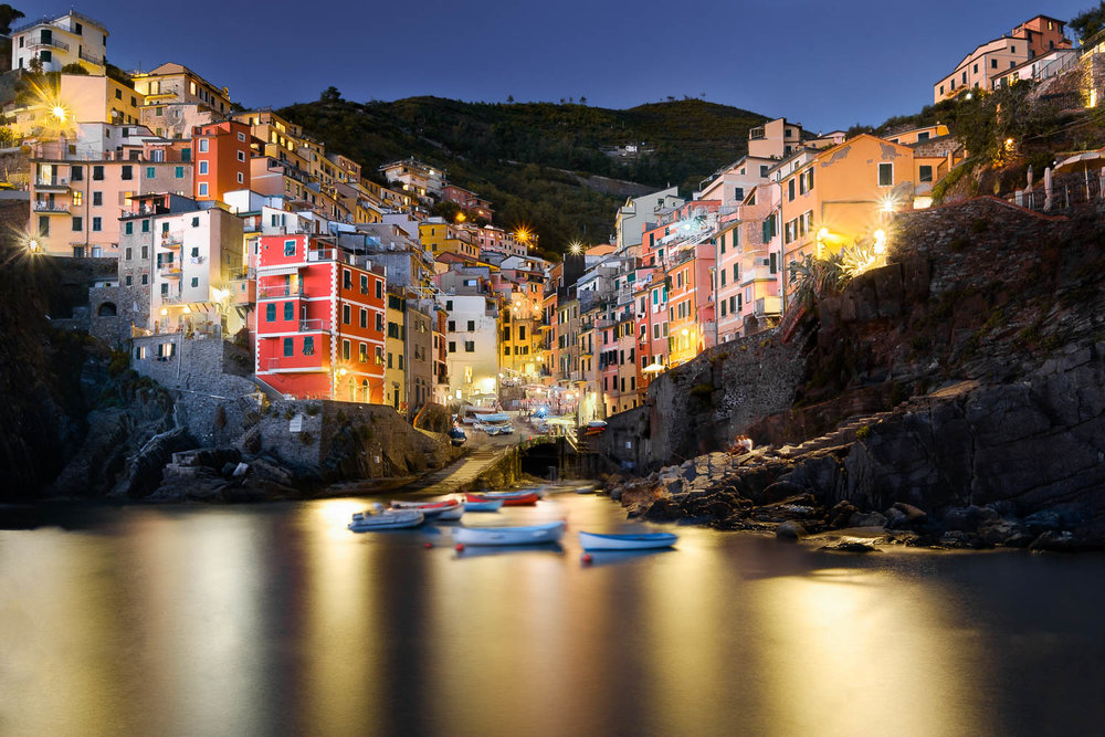 Golden Reflection in Riomaggiore