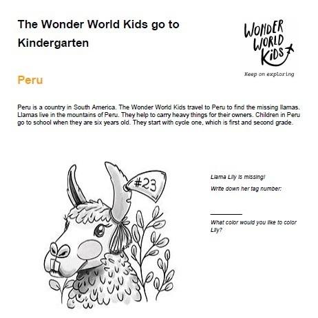 Kindergarten in Austria and Peru