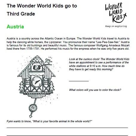Third Grade in Austria and Peru
