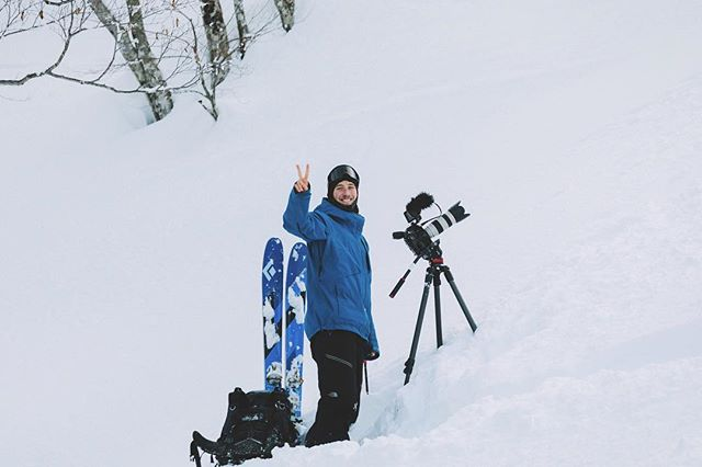 Always happy vibes when out filming in the Japanese backcountry. P: @miraecampbell