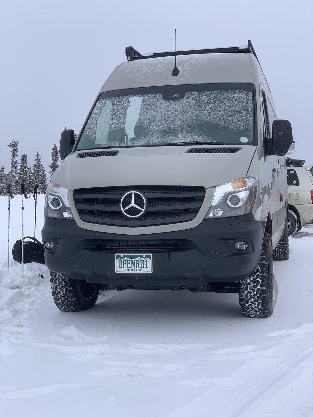 Snow isn't a problem!