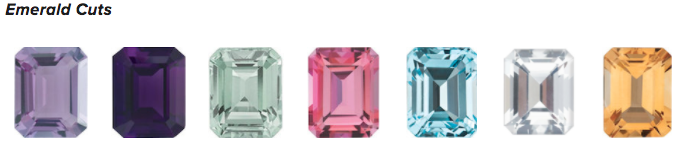 Emerald Cut Gemstones