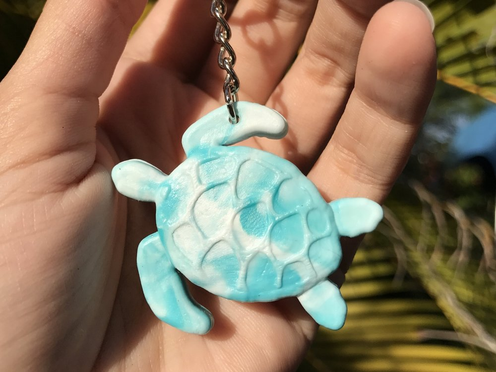 Sea Turtle keychain -