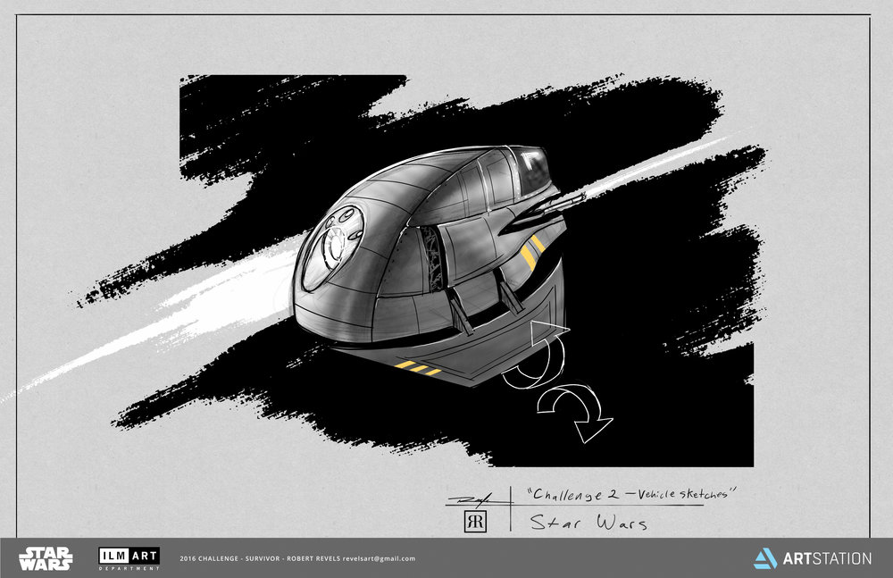 How to design a space ship -