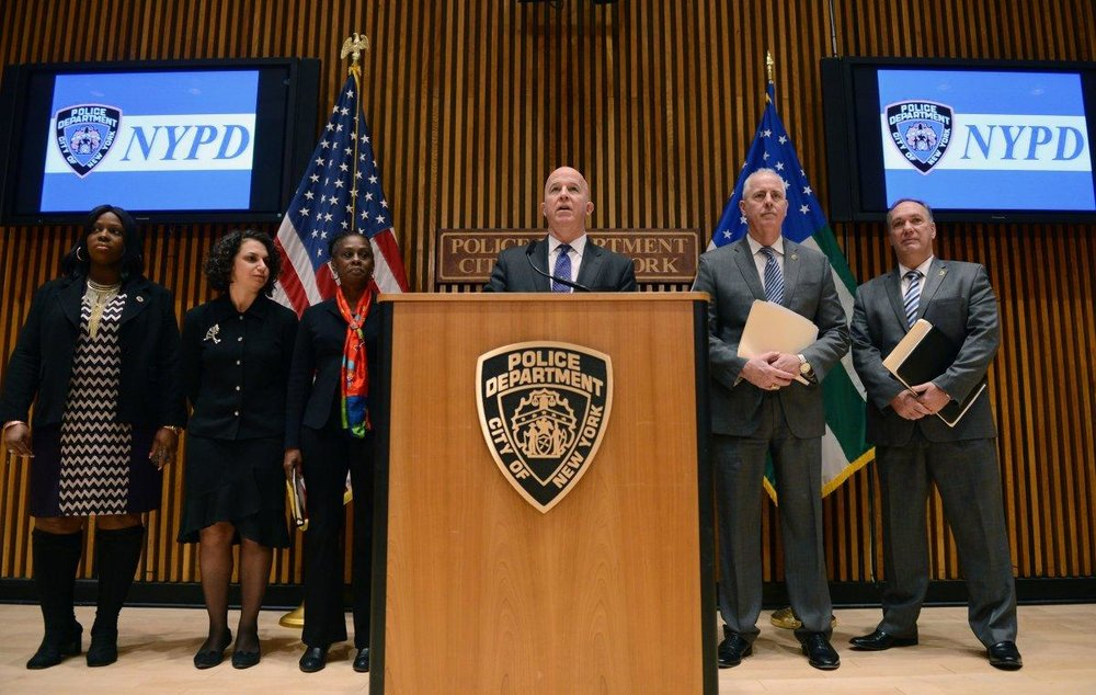 Top cop James O'Neill to double size of NYPD's vice squad, enforces new human trafficking probe training - NEW YORK DAILY NEWS