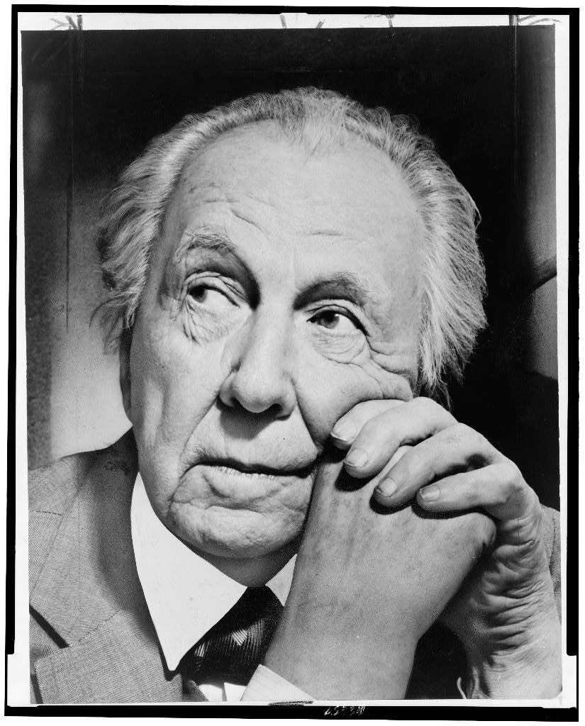 Frank Lloyd Wright | 1954 | Photo: Library of Congress