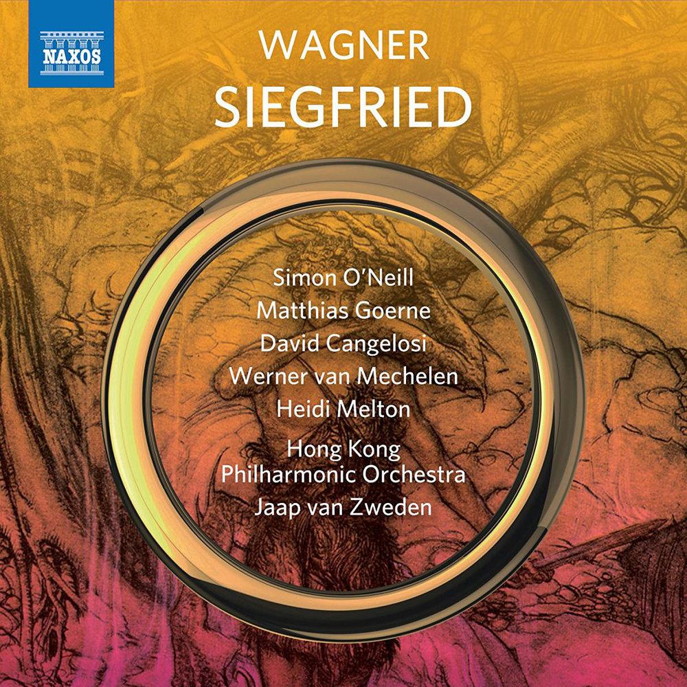 New Album:Siegfriedwith jaap van zweden &Hong kong Philharmonic -