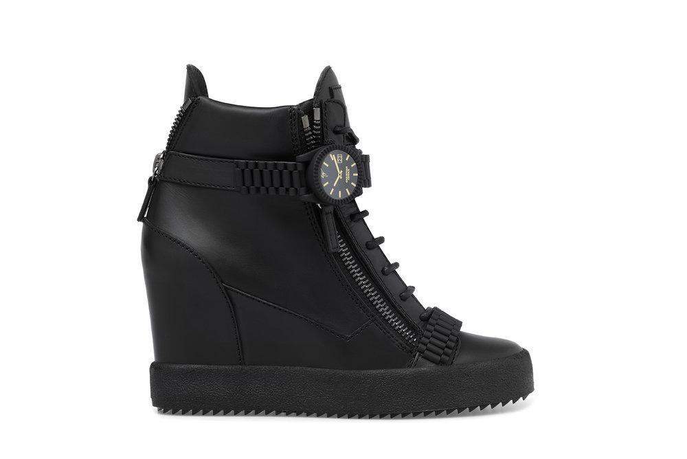 Black Sneaker. COMING JULY.