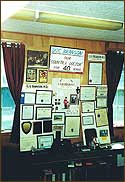 A section of the Old Library is dedicated to the memory of Dr. Sid Branson, who for nearly half a century provided townspeople with medical care. A World War II veteran, he participated in every parade and served the town on many committees. He was instrumental in starting the Windham Health Council which used this Old Library building for many years as its headquarters.