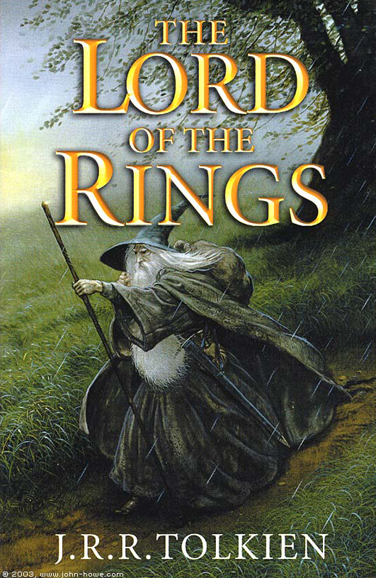 The Lord of the Rings  is almost a vehicle that gives Tolkien a way to explore the world that he plotted out league by league, river by river, syllable to syllable.