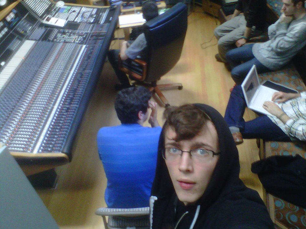 Recording with The Wishermen, 2011