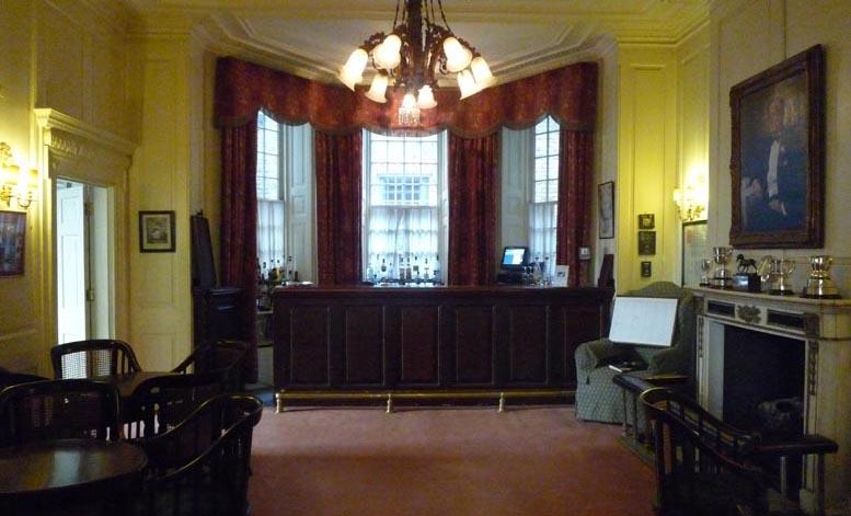 First floor American Bar before refurbishment