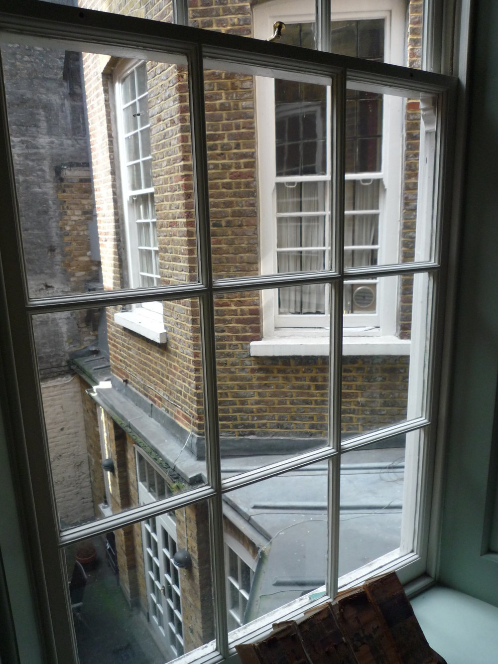 Before first floor balcony extension