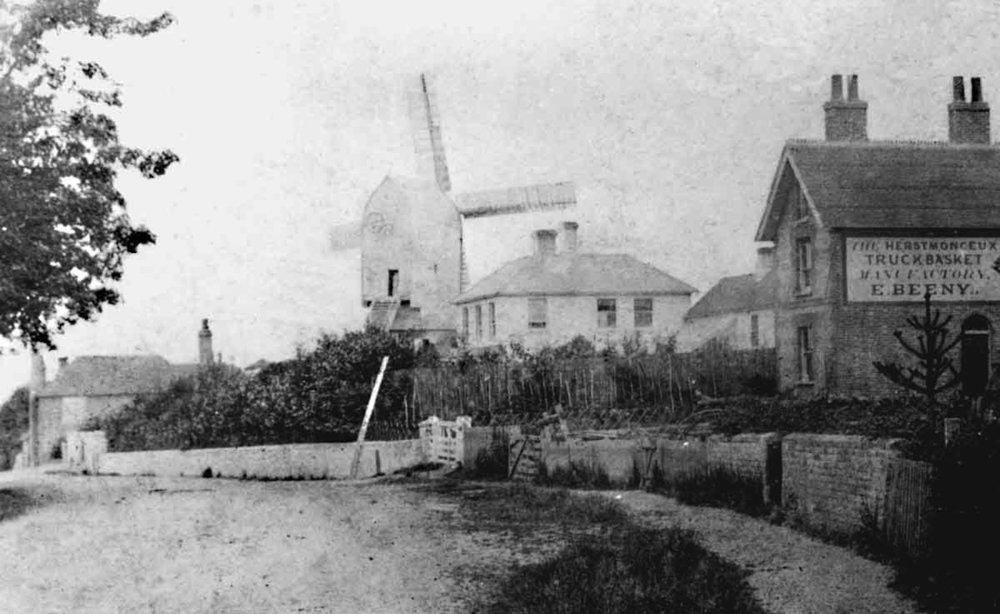 The Windmill at Windmill hill around 1890