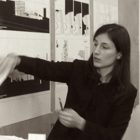 GIOVANNA CELEGHIN, ARCHITECT  B.Arch (Hons), M.Arch (Hons), ARB, RIBA  Giovanna studied Architecture in Venice, Italy and is a chartered architect in the UK and EU. She attended Piranesi Itinerant Master in Museography after winning the related International Student Prize. Her Master's thesis won the honourable mention at the Archiprix Italia 2015.