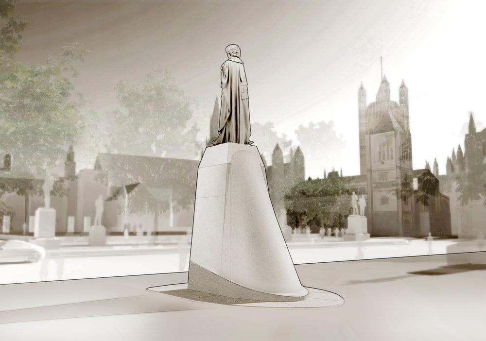 Plinth design by FINE architecture