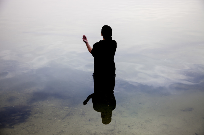 <b>Sama Alshaibi</b></br><i>Silsila</i> series