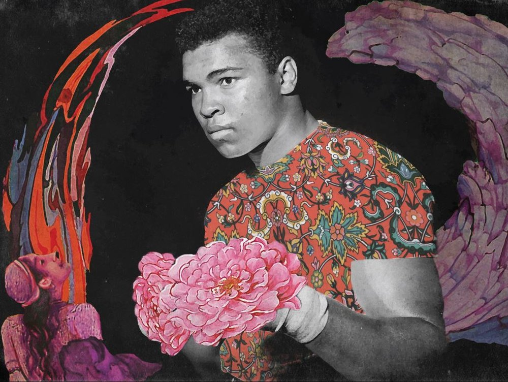 <b>Farbod Mehr</b></br><i>Mohammad Ali</i></br>Fine art print on archival paper</br>Limited edition of 20</br>12 x 16 in