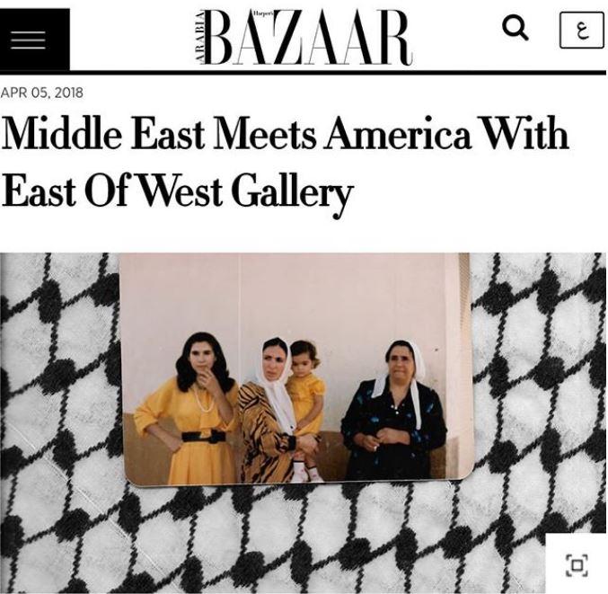 "<b><h2><a href=""https://www.harpersbazaararabia.com/art/exhibitions/east-of-west-gallery-new-mexico"">HARPERS BAZAAR ART</b></h2></a>"
