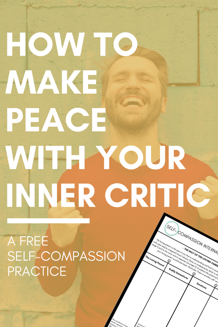 Workbooks self esteem workbook : HOW TO MAKE PEACE WITH YOUR INNER CRITIC: FREE WORKBOOK — PSYCHE ...